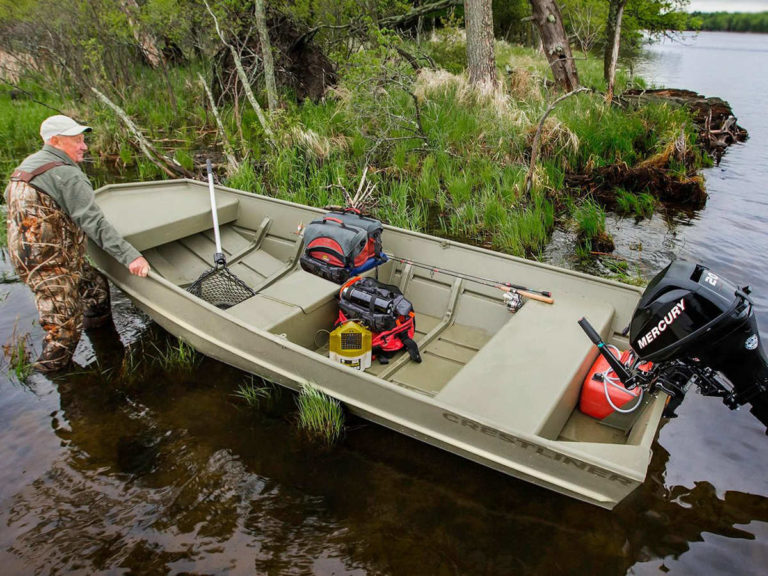 Лодка crestliner 1236 CR