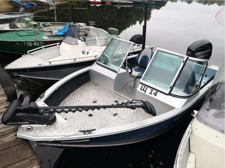Катер Windboat 46 evo с двигателем Mercury F60 E EFI