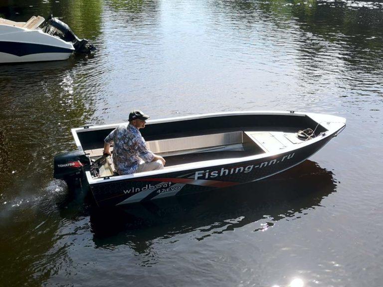 Моторная Лодка Windboat 42 evo